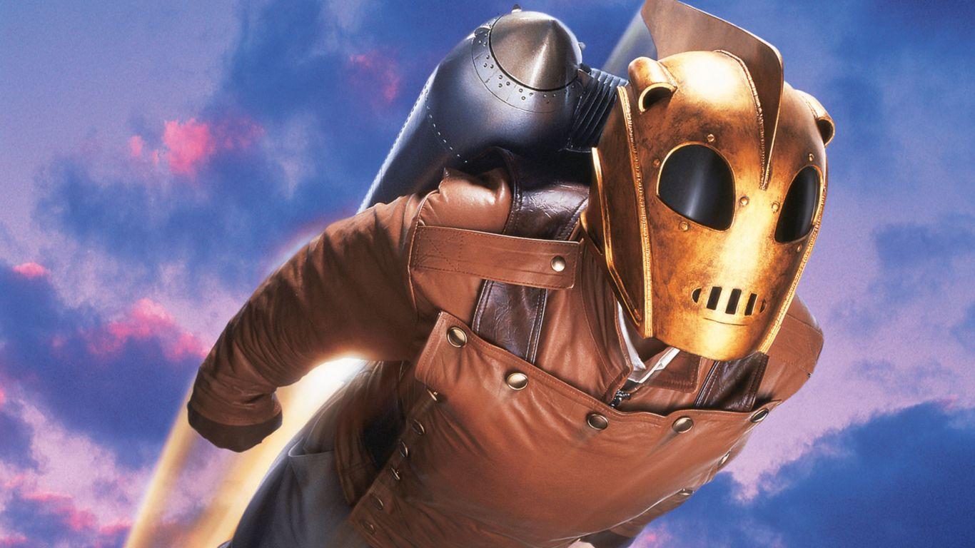 """O personagem principal do filme """"The Rocketeer"""" também personifica o estilo"""