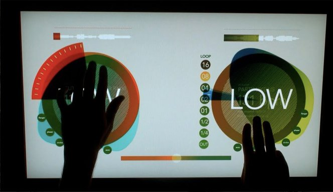 Multi Touch Light Table e o futuro do CDJ