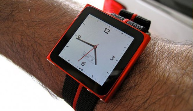 Transforme seu iPod Nano em um relógio de pulso