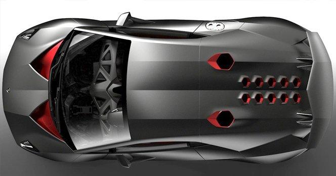 Lamborghini Sesto Elemento V10 Carbon Fighter