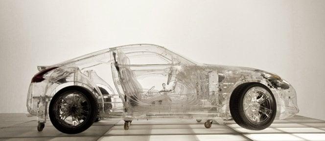 Shell e seu carro transparente