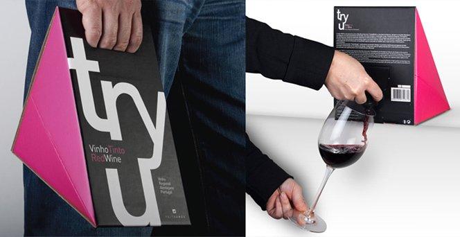 Revolucionando a embalagem de vinho