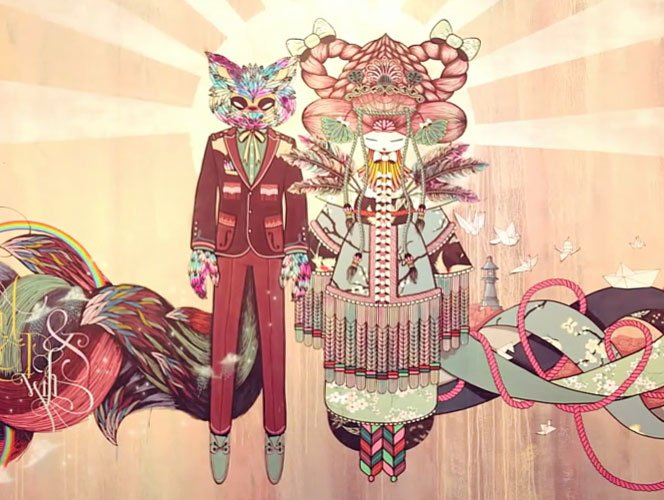 A arte de Supakitch and Koralie
