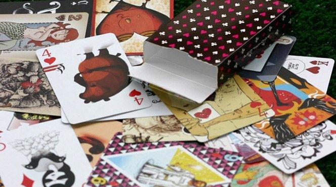 Projeto 54 e o poker de artista