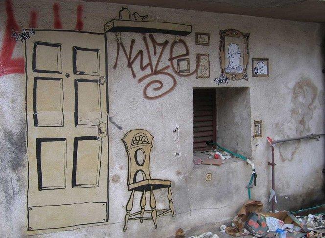 A casa dos moradores de rua