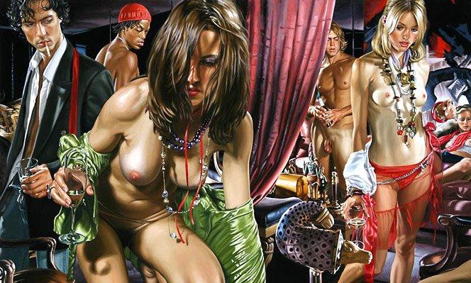 A arte de Terry Rodgers