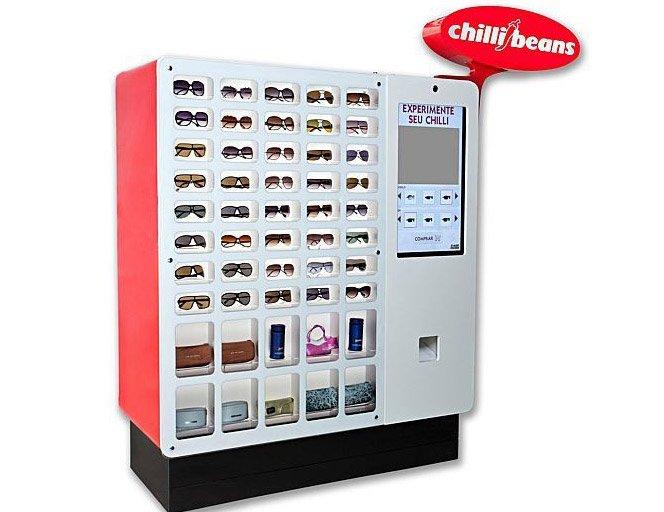 Vending Machine da Chilli Beans