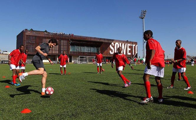 Centro de treinamento de futebol da Nike