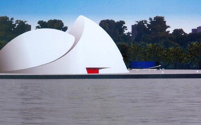 Novos projetos  de Oscar Niemeyer aos 103 anos