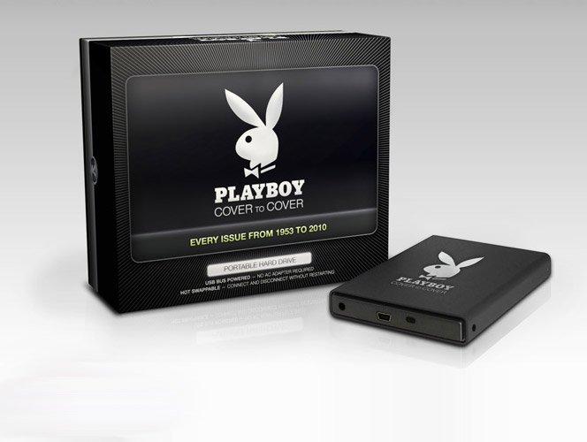 Playboy lança HD externo com  todas as suas edições