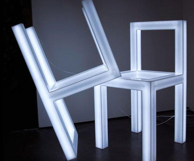 Cadeira luminosa