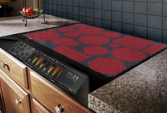 Fogão aquece 15 panelas ao mesmo tempo