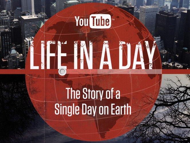 Ridley Scott apresenta Life in a day hoje no Youtube