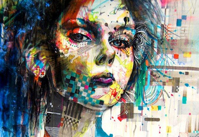 A arte de Minjae Lee