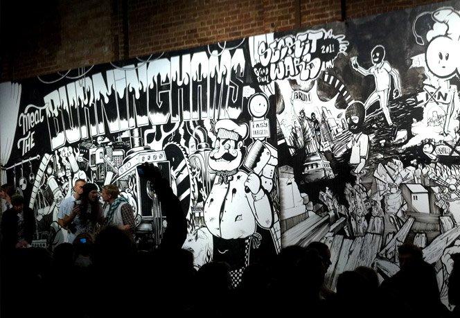 Street Wars – Batalha de grafitti com canetão preto