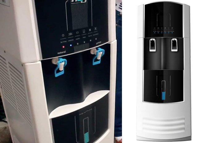 Máquina que produz água