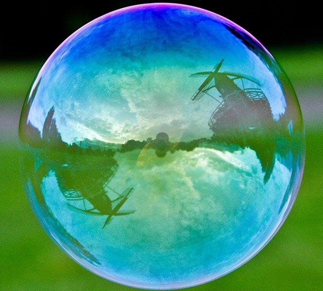 O mundo é uma bolha