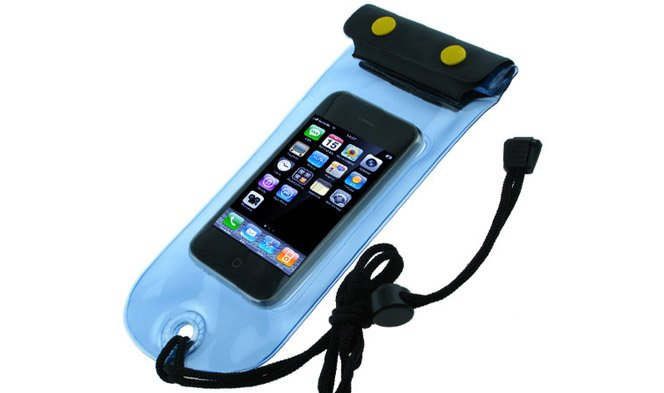 Case de iPhone à prova de água