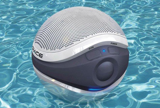 Caixa de som wireless à prova de água
