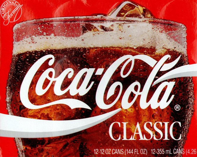 A fórmula da Coca-Cola