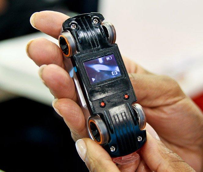 HotWheels Video Race com câmera e tela lcd