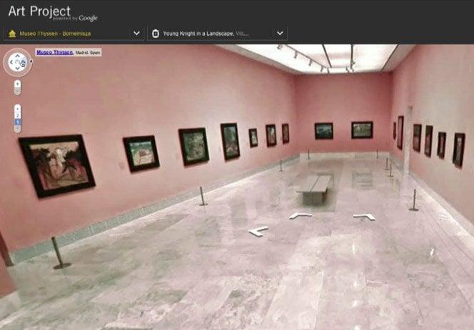 Google Art Project . Visite os melhores museus do mundo do seu computador