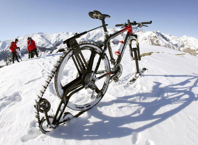Bicicleta de neve