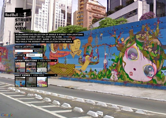 Red Bull Street Art View