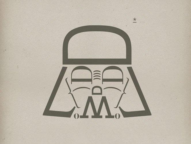 Star Wars + Tipografia