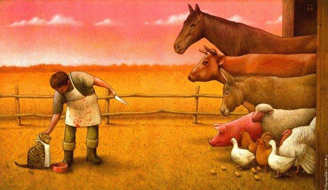 Artista mostra lado B de nossa sociedade