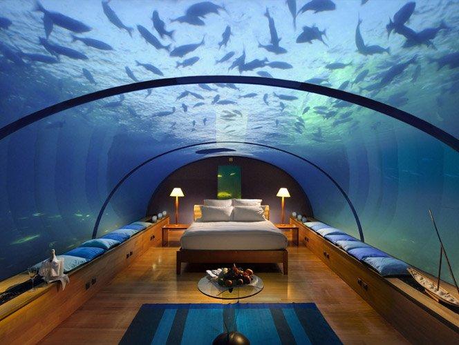 Hotel debaixo da água