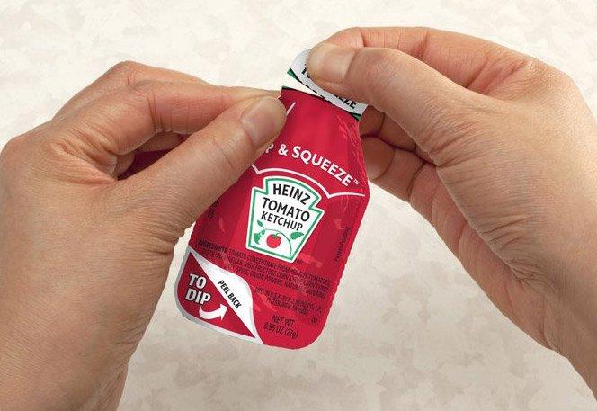 Sachê de Ketchup da Heinz