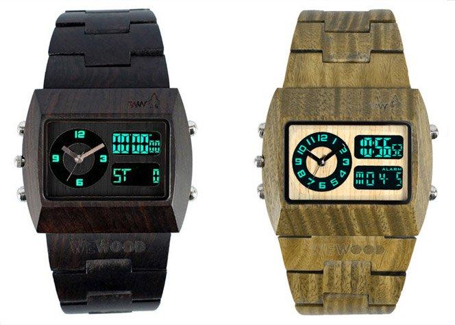 Relógio de Madeira – WeWood