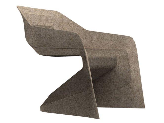 Cadeira feita de maconha