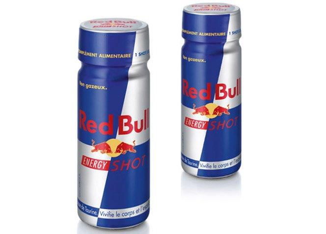 Nova embalagem de Red Bull
