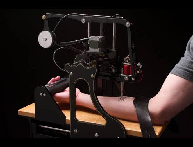 Máquina faz Tatuagem Automática