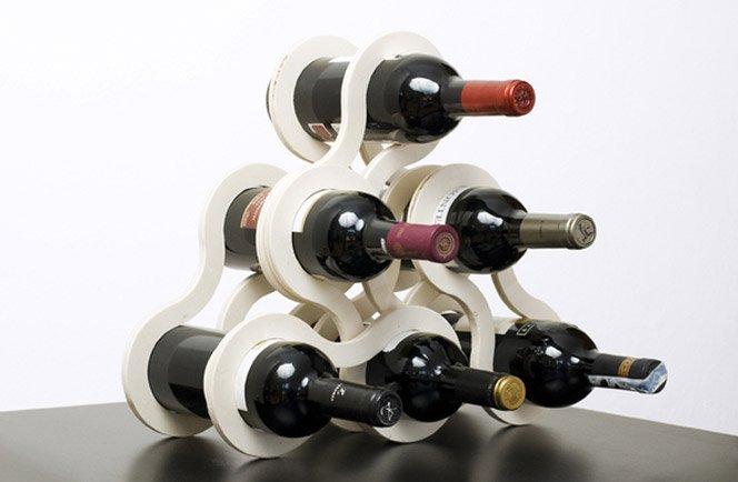 Suporte para garrafas vinho