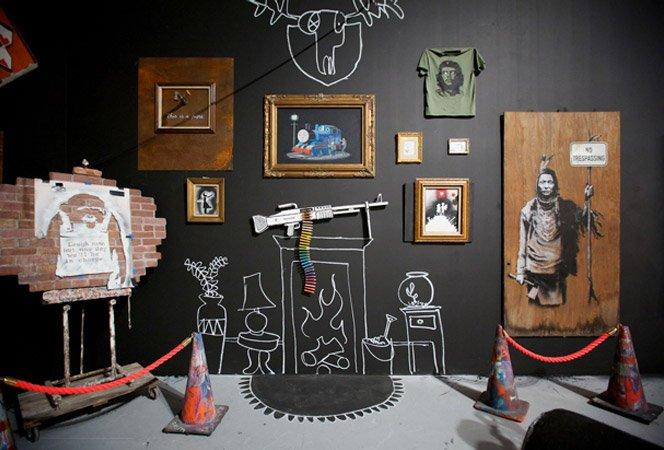 Banksy em exposição na MOCA L.A.