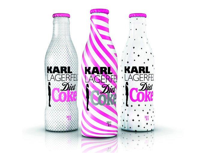 Coca-Cola por Karl Lagerfeld