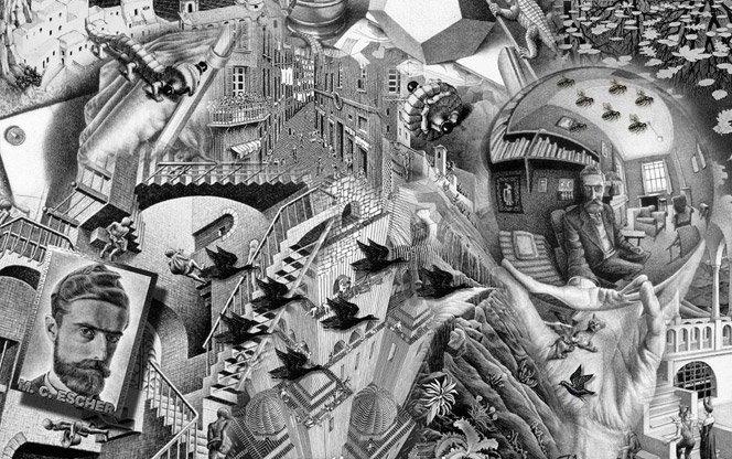 Exposição O Mundo Mágico de Escher estréia em Sampa em abril