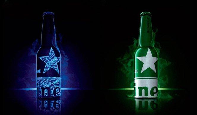 Nova embalagem de Heineken
