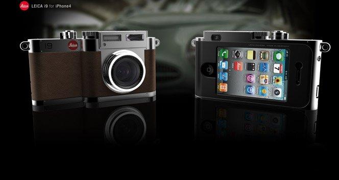 Corpo Câmera Leica + iPhone