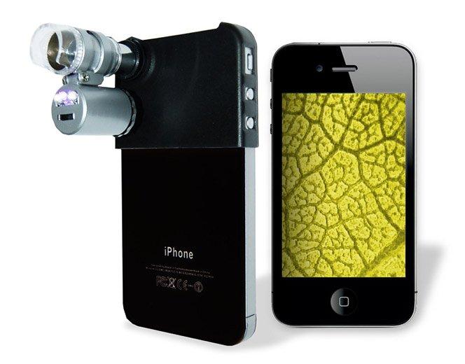 Transforme seu iPhone em um Microscópio