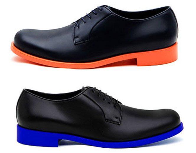 Sapatos com Solado Colorido