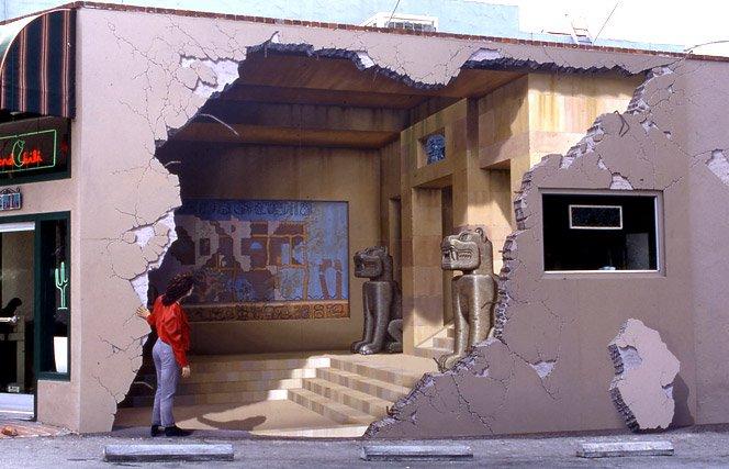 Muros em 3D de John Pugh