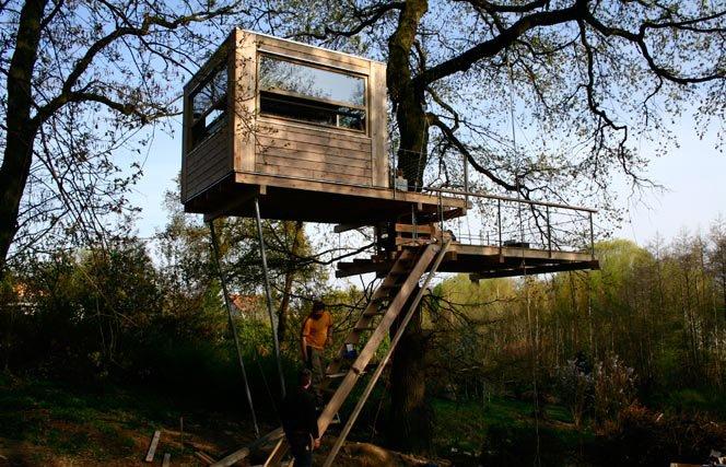 Casas na Árvore como Negócio