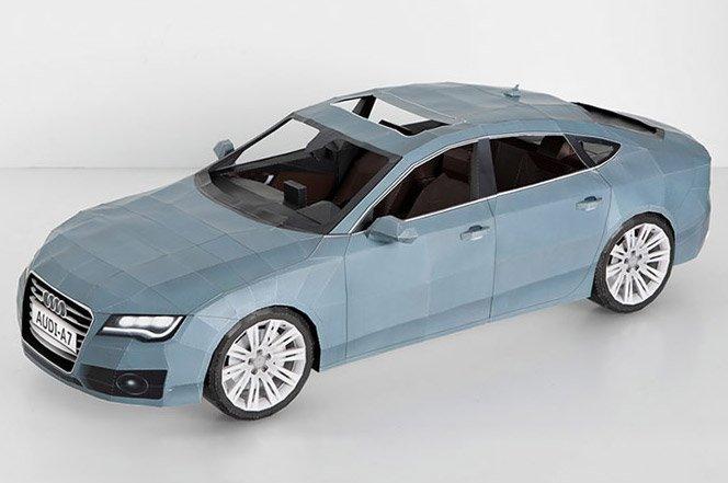Audi A7 de Papel