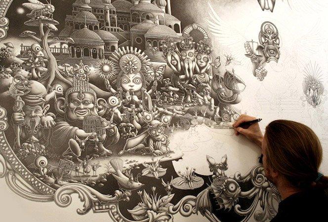 Arte com Grafite