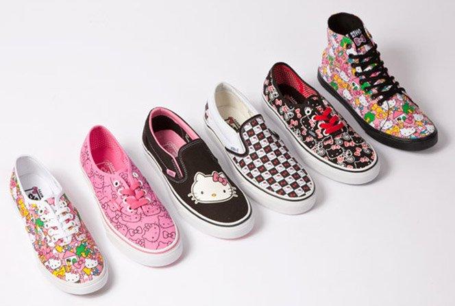 Tênis Vans + Hello Kitty