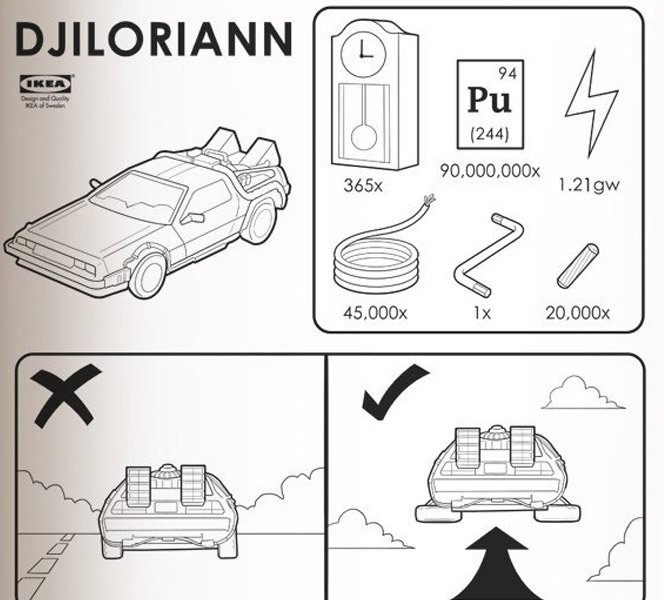 Manuais da Ikea Satirizados
